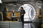 SOLO: A STAR WARS STORY Joonas Suotamo is Chewbacca, Woody Harrelson is Beckett and Alden Ehrenreich is Han Solo
