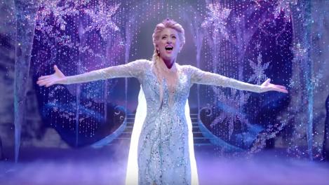 frozen musical di broadway disney elsa trailer finale