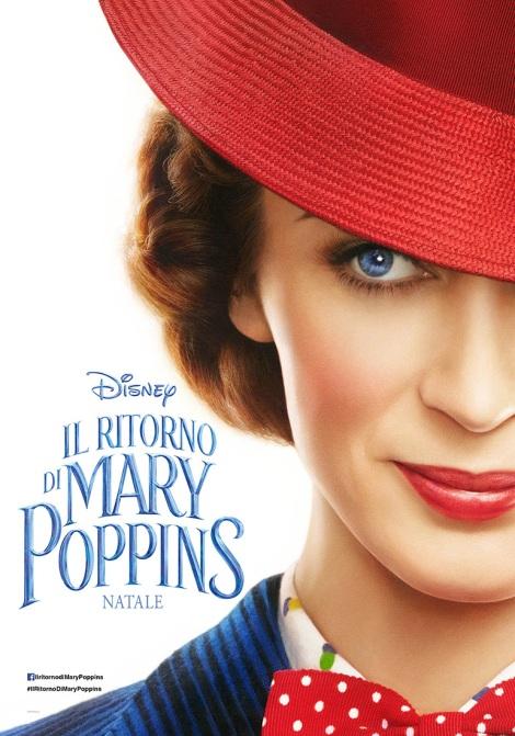 il ritorno di mary poppins emily blunt poster italiano