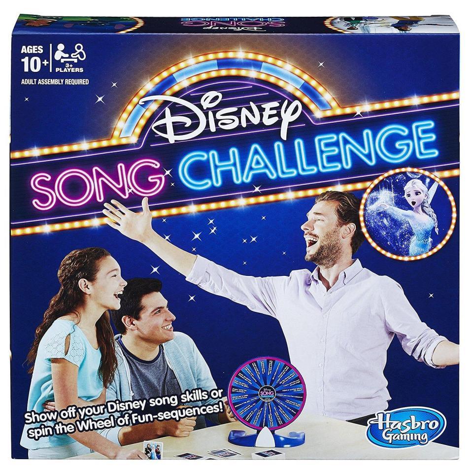 disney song challenge hasbro gioco karaoke