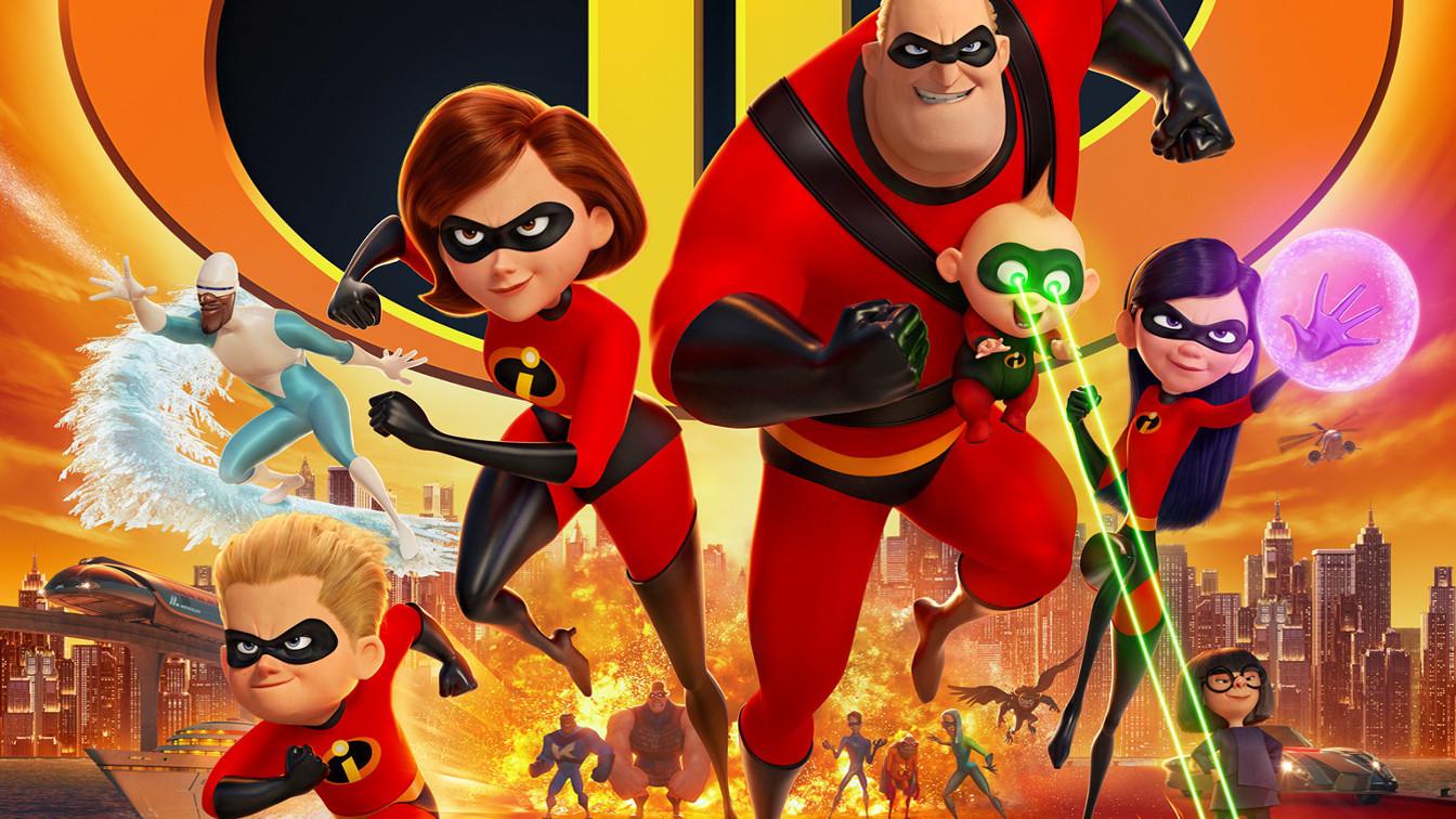 gli incredibili 2 una normale famiglia di supereroi nuovo trailer lingua originale