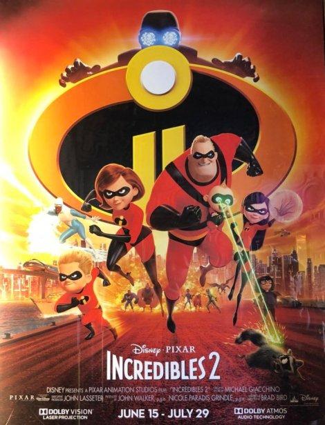 gli incredibili nuovo poster originale pixar
