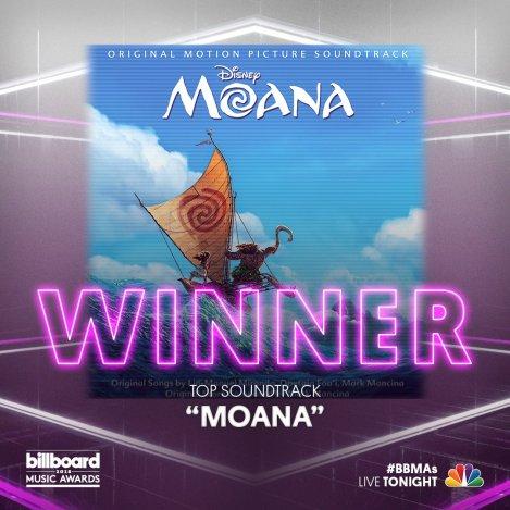 Moana Vaiana Oceania Billboard