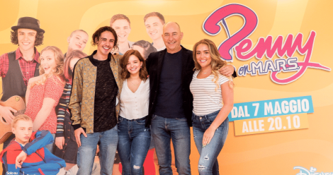 penny on mars nuova serie disney channel