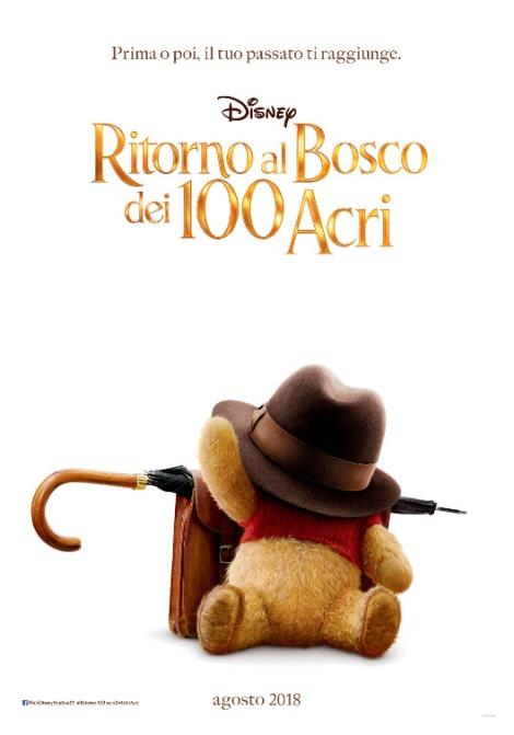 ritorno al bosco dei 100 acri poster italiano