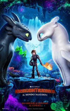 dragon trainer 3 poster italiano