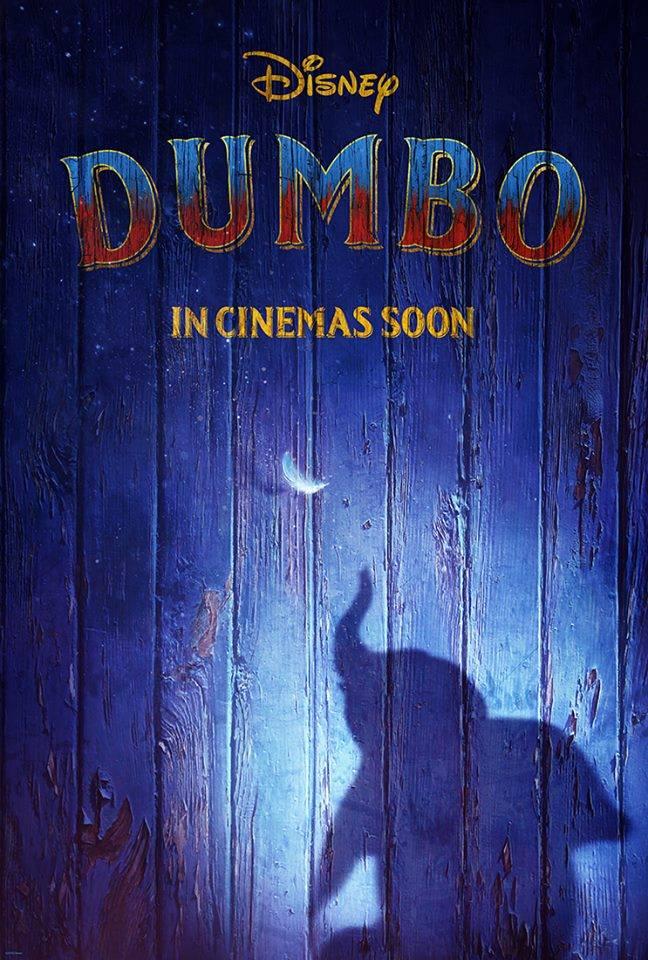 dumbo poster live action tim burton