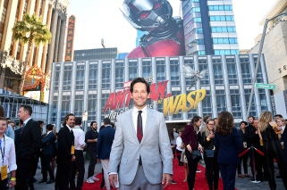 "HOLLYWOOD, CA - JUNE 25: Actor Paul Rudd attends the Los Angeles Global Premiere for Marvel Studios' ""Ant-Man And The Wasp"" at the El Capitan Theatre on June 25, 2018 in Hollywood, California. (Photo by Alberto E. Rodriguez/Getty Images for Disney) *** Local Caption *** Paul Rudd"