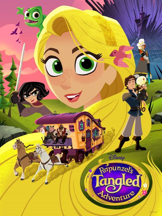 rapunzel la serie nuovo titolo tangled adventure seconda stagione