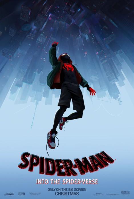 spider man un nuovo universo miles morales sony animation poster