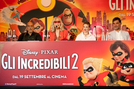 Gli Incredibili 2 Pixar Doppiatori Italiani Disney (1)